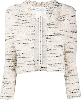 Iro cropped knit jacket - NEUTRALS