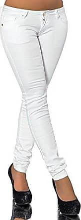 L390 Damen Jeans Hose Hüfthose Damenjeans Hüftjeans Röhrenjeans Röhrenhose Röhre