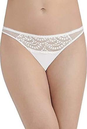 VASSARETTE Womens Lace /& Layers Thong Panty 18020