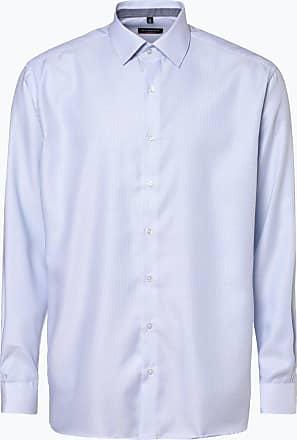 Eterna Herren Hemd - Bügelfrei blau