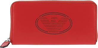 Emporio Armani wallet with emblem and zip