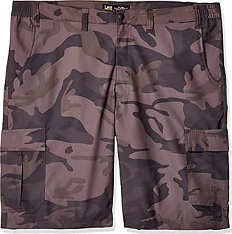 12891fcc07 Lee Mens Big and Tall Big & Tall Dungarees Performance Cargo Short, Smoke  camo,