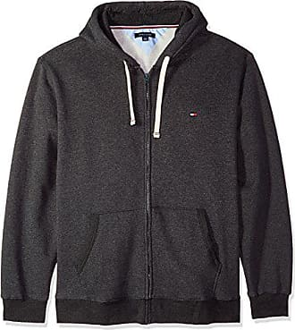 Tommy Hilfiger Mens Hoodie Full Zip up Sweatshirt