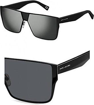 4764897135bb Marc Jacobs Marc213s Polarized Rectangular Sunglasses, Black, 60 mm