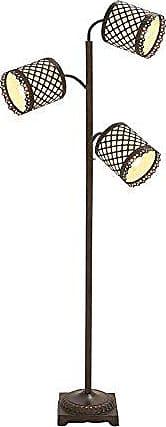 UMA Enterprises Inc. Deco 79 Metal 3 Arm FLR Lamp H-59514, 70 H, Black