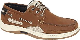 Quayside Unisex Adults Sydney Boat Shoes, Brown (Walnut 001), 7 UK 41 EU