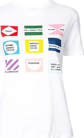 être cécile Flags T-shirt - White