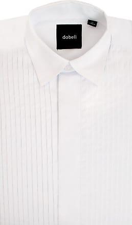 Dobell Boys White Dress Shirt Regular Fit Standard Collar Pleated Fly Front-12.5
