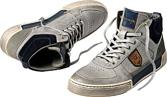 Pantofola D'oro dOro Herren High-Top-Sneaker Grau gemustert