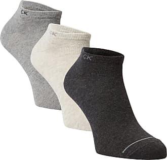 Calvin Klein Herren Sneakersocken im 3er-Pack grau