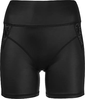 Kiki De Montparnasse lace-detail biker shorts - Black