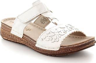 62ad1176c7fb Marco Tozzi Marco Tozzi Velcro Slip On Wedge Cork Sandals 7