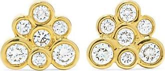Ippolita Starlet 18-karat Gold Diamond Earrings