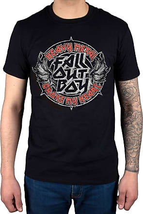 AWDIP Official Fall Out Boy Heavy Metal T-Shirt Black