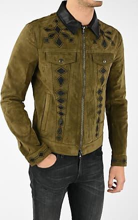 Diesel BLACK GOLD Suede Leather LYRICH Jacket size 50