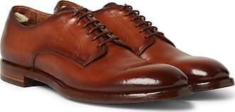 Officine Creative Emory Leather Derby Shoes - Brown