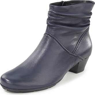 Gabor Ankle boots gathered shaft Gabor blue