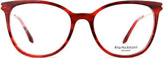 Ana Hickmann Óculos de Grau Ana Hickmann Ah6374 E02/51 Tartaruga Vermelho/dourado