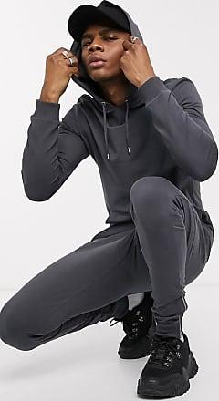Puma – Schwarzer Kapuzenpullover mit Seitenstreifen, exklusiv bei ASOS
