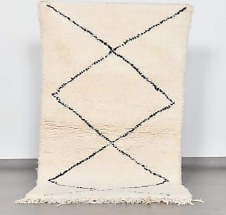 Benisouk Beni Ourain rug 3 x 5.6 ft