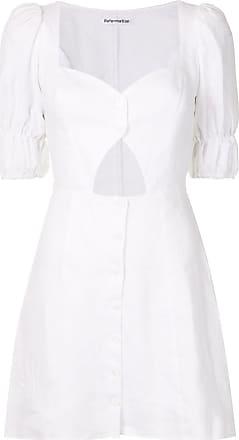 Reformation Vestido Clay - Branco