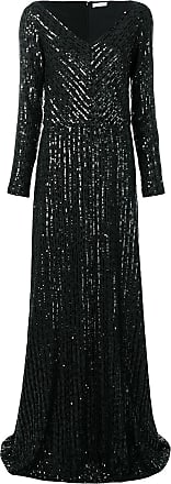 Nina Ricci sequinned gown - Preto