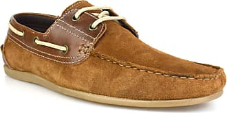Redtape Stratton Tan Suede Mens Casual Boat Shoes