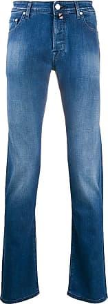 Jacob Cohen J688 mid-rise straight-leg jeans - Blue