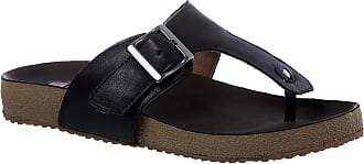 Doctor Shoes Antistaffa Sandália Feminina Birks em Couro Preto 212 Doctor Shoes-Preto-38