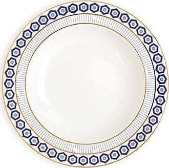 Jonathan Adler 21970 Newport Soup Plate, Blue