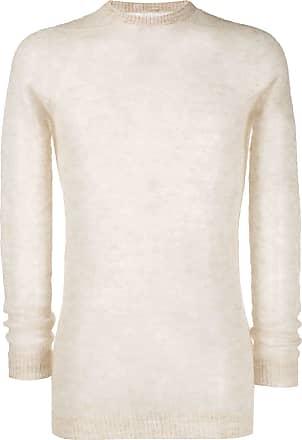 Rick Owens semi-sheer fine knit jumper - Neutro