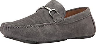 Kenneth Cole Reaction Mens Sing Song Slip-On Loafer, Grey, 10.5 M US
