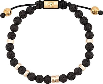 Nialaya contrast beaded bracelet - Black