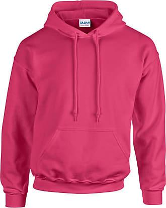 Gildan Gildan Heavy Blend Adult Unisex Hooded Sweatshirt / Hoodie (2XL) (Heliconia)
