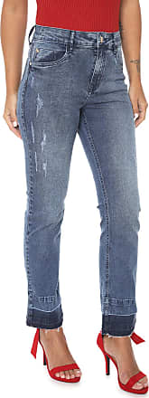 Lez a Lez Calça Jeans Lez a Lez Reta Tulum Azul