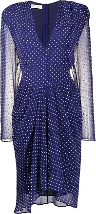 Philosophy di Lorenzo Serafini polka-dot midi dress - Blue