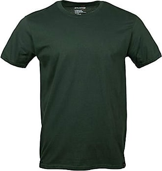 Gold Toe Mens Crew Neck T-Shirt, Forest Green, Small