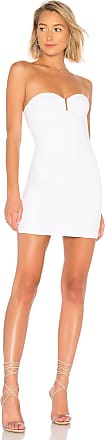 by the way. Evelyn U Ring Strapless Bodycon Dress in White