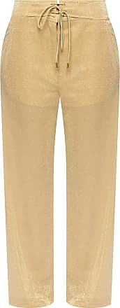 Lanvin Trousers With Pockets Womens Beige