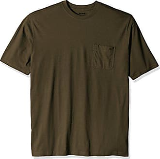 Wolverine Mens Big and Tall Knox Wicking Short Sleeve Pocket Big & Tall T-Shirt, Olive, Large