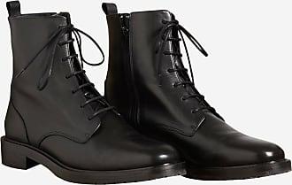Comptoir Boots cuir Cotonniers Cotonniers Noir des Des lisse Comptoir en 0g1xTE0q
