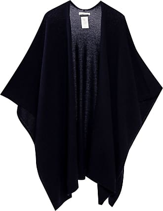 The Row Cashmere Poncho Womens Navy Blue