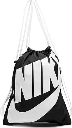 Nike Mochila Saco Nike Sportswear Heritage Gymsack Preta/Branca