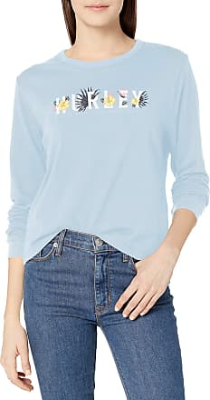 Hurley Womens Laugh Now Shred Later Perfect Long-Sleeve Tee