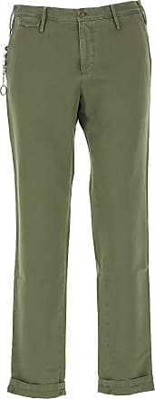 PT01 Pants for Men On Sale, Military Green, Cotton, 2017, 31 32 33 34 36