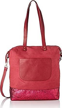 0f8ba89b10 Le Temps Des Cerises femme Beverly 2 Sacs portes epaule Rouge (Rouge)