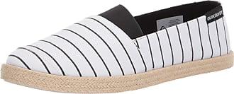 Quiksilver Mens ESPADRILLED Sneaker, White/Black/White, 12 UK