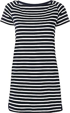 158bc21970134 sacai nautical striped shift dress - Blue