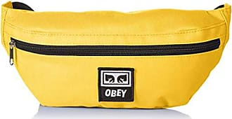 Obey Mens Daily Sling Pack, yellow ONE SIZE