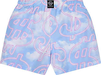 SSS World Corp SSS $$$ Clouds Quickdry Swim Short (XL) Baby Blue